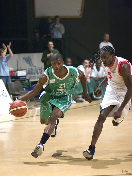 Vs Leicester Riders 9th February 2007