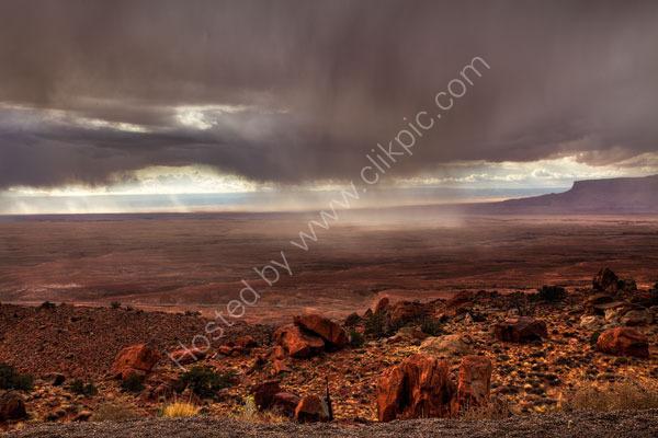Storm near Page, Arizona