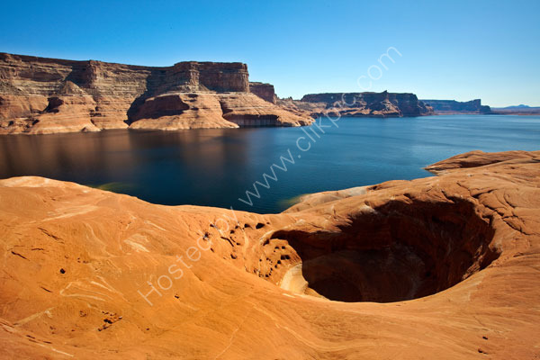 Weathering Pit at Lake Powell