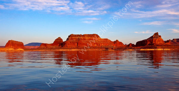 Last light on Lake Powell