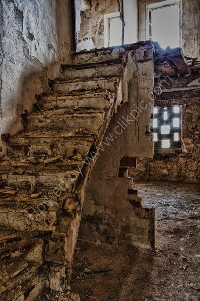 Vineyard abandoned house