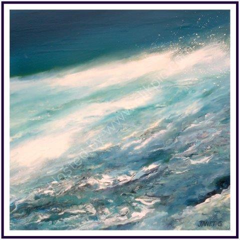 impressionist, textural, landscape, dramatic landscapes, marine artwork, contemporary design, seascape, ocean, art, contemporary