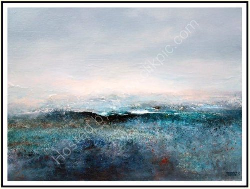 contemprorary art, seascape, landscape, textural, abstract impressionist, art