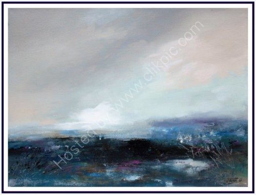 contemporary art, seascape, atmospheric, moody, landscape, textural, abstract, impressionist, art