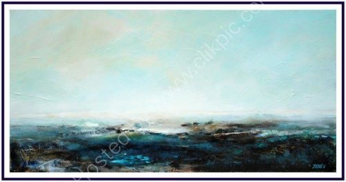 contemporary art, seascape, landscape, atmospheric, moody,  textural, abstract, impressionist, art