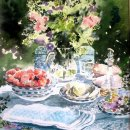 'Afternoon Tea' Greeting Card