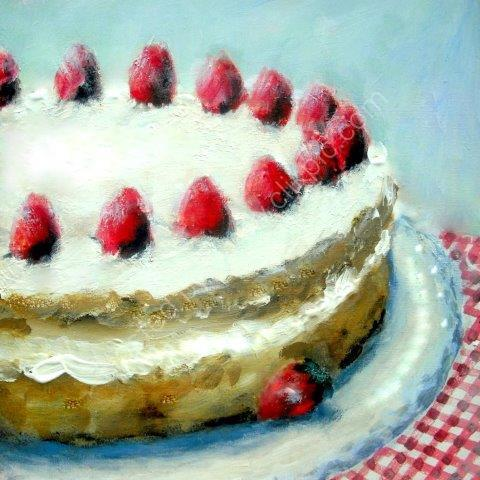 'Cream Cake' Greeting Card £1.75
