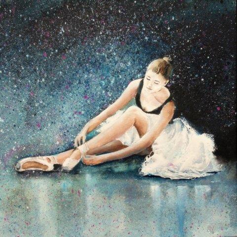 ballet, birthday, female, child, ballet exam, passing exam, dancing, dancer, ballet shoes, contemporary, art, ballet, ballerina, greetings, card