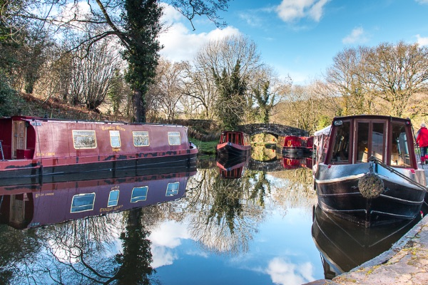 canal by Talybont-on-Usk