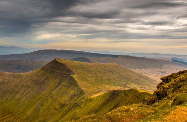 on top of the world at Pen-y-Fan