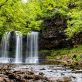 Waterfall country, Powys, South Wales