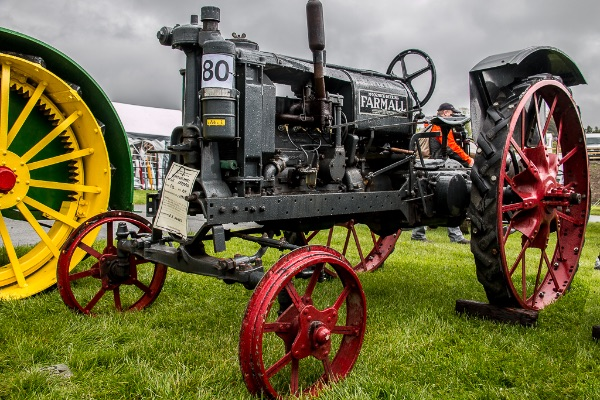 vintage tractor, Spring Fair, Builth Wells