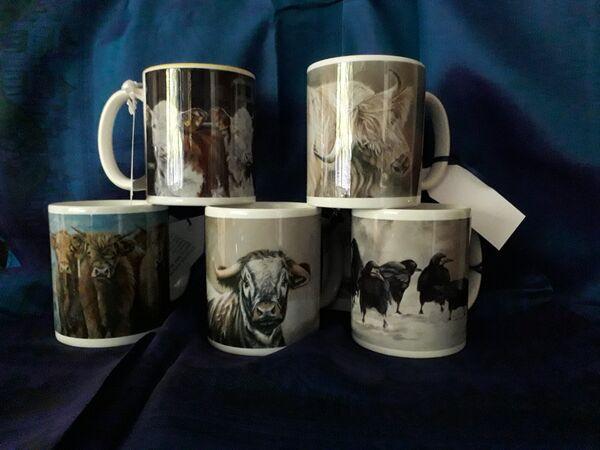 Classic China mug  £8 each Boxed