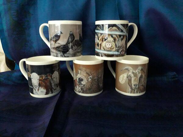Bone China mug £10 Boxed