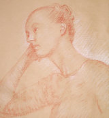 Sketch of young girl