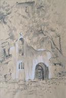 Chapel by the Lake, Agios Nikolaos,Crete.1971