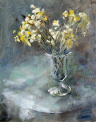 Wild narcissus in Glass