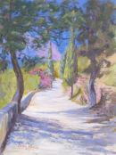Pathway,Vraxassi, Crete.