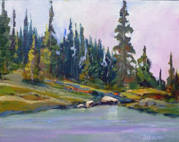 Balsam Lake Revelstoke Mtn - JC Studio Art