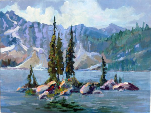 Revelstoke Mtn. Eva Lake  - JC Studio Art