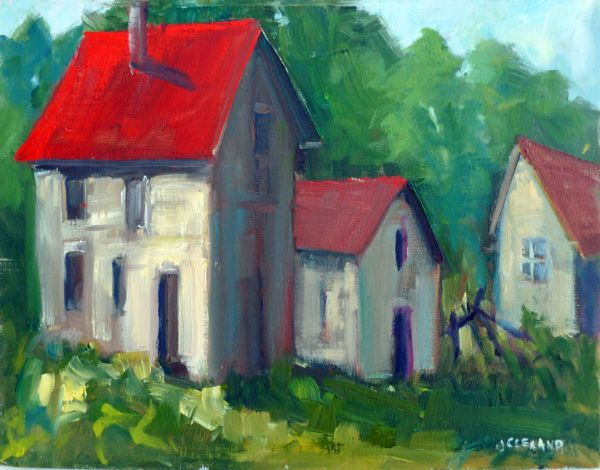 108 Mile BC Heritage Houses - JC Studio Art