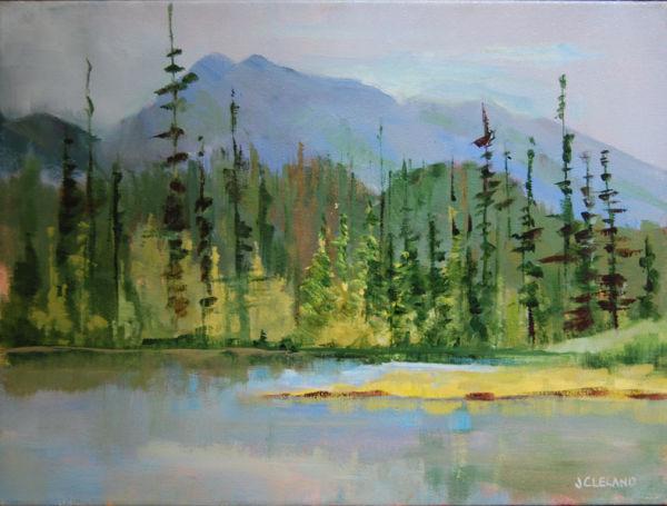 McGillivray Lake BC- JC Studio Art