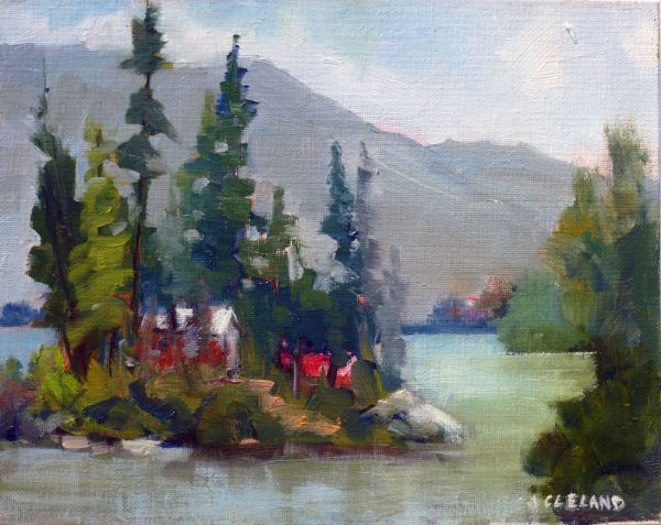 Pavilion Lake BC  - JC Studio Art