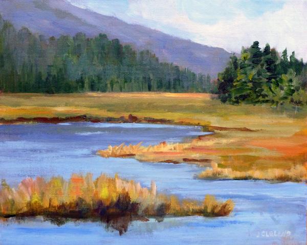 Herman Lake Campsite2- JC Studio Art