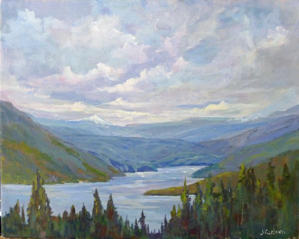 Shuswap Lake Seymour Arm - JC Studio Art