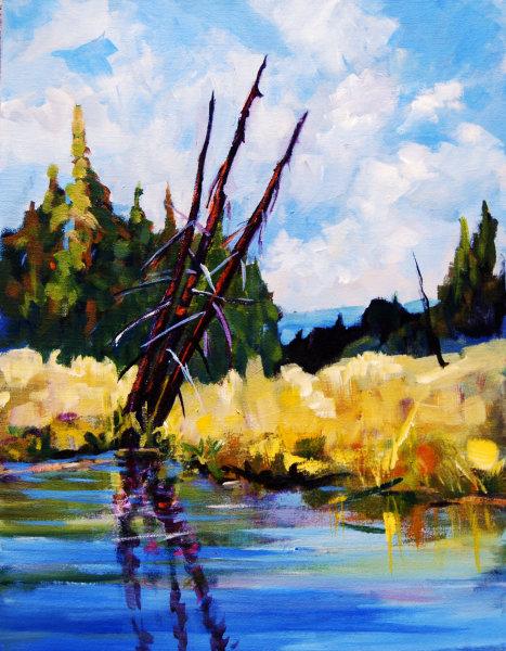 Herman Lake Acrylic 18x14