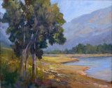 Skiminkin Lake Tappen BC - JC Studio Art  18x14