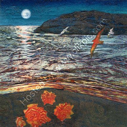 Ammonite Beach: Night Flight