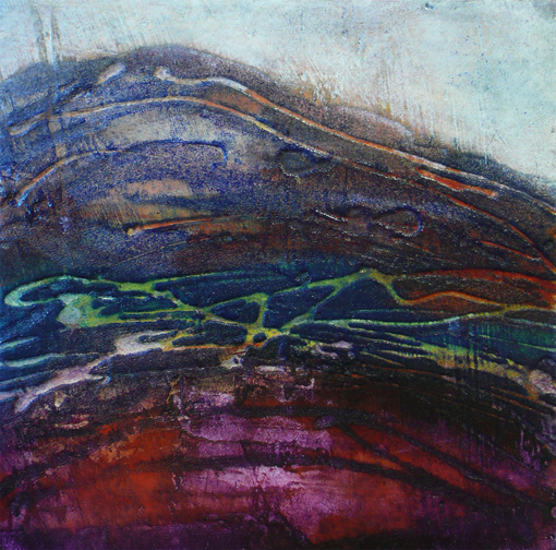 Inspired by the winter hills in the yorkshire dales.