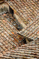 Siena Roof Tiles, Tuscany
