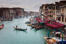 View from The Rialto Bridge Venice