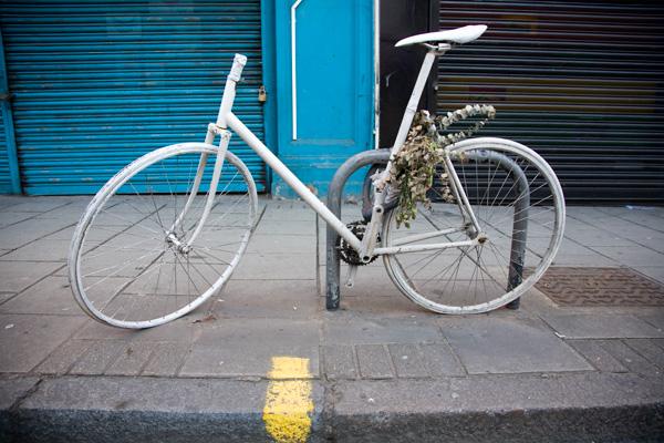 Ghost bike portrait 2