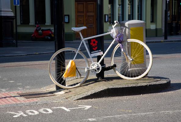 Ghost bike portrait 4