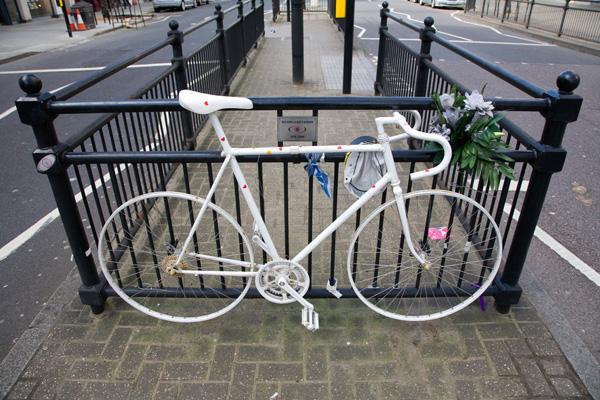 Ghost bike portrait 5