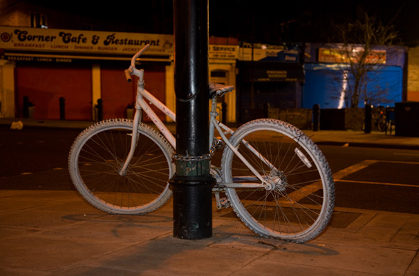 Ghost bike portrait 9
