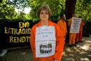 Anti-Guantanamo protester