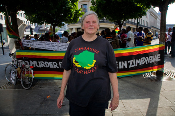 Zimbabwe protester
