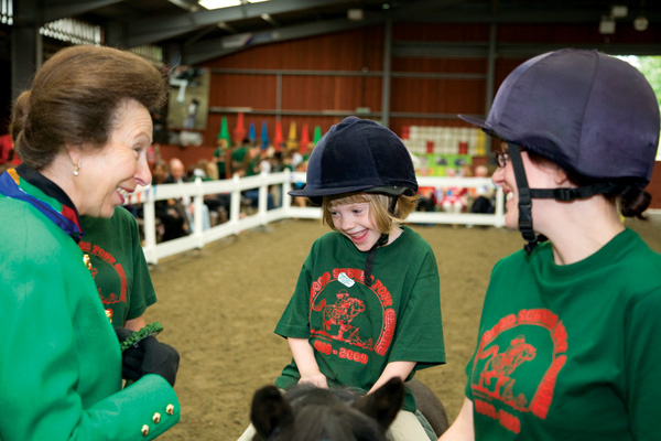 Princess Anne at the riding
