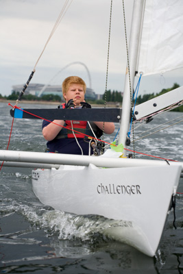 Paralympic sailing hopeful