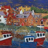 Crail Harbour 3 - sold