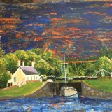 A Loch on the Crinan Canal - sold