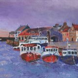 Storm over Pittenweem Harbour - sold