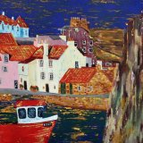 The Gyles, Pittenweem, from the stone jetty - sold