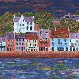 Anster from the Coastal Path -sold