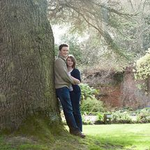 Love in the gardens at Careys Manor
