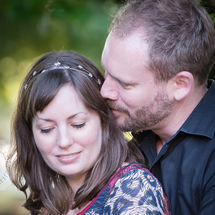 Careys Manor Hotel Engagement Shoot